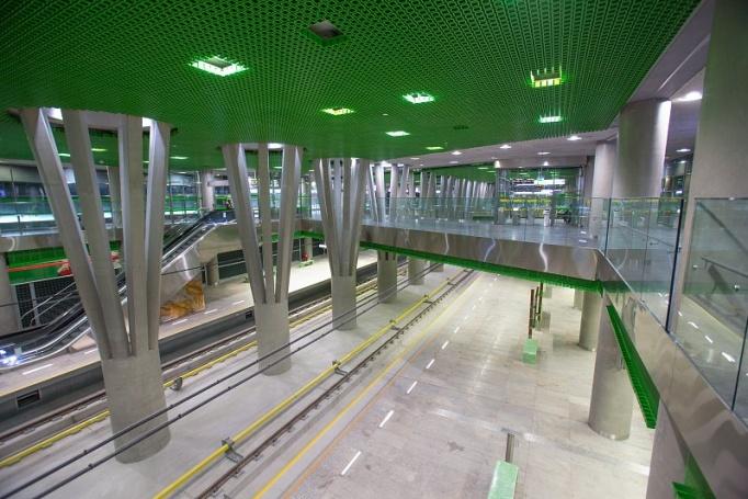 Stacja metra Stadion Narodowy  - zdjęcie 4