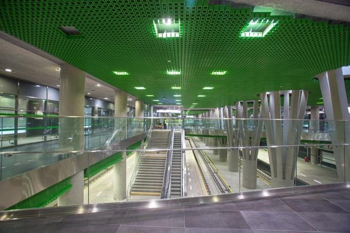 Stacja metra Stadion Narodowy  - zdjęcie 5