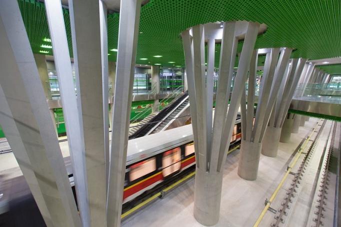 Stacja metra Stadion Narodowy  - zdjęcie 6