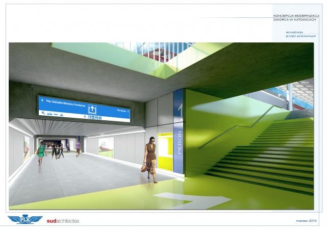 Perony - dworzec Katowice - Platforms - zdjęcie 1