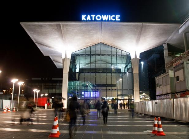 Dworzec PKP Katowice Train Station - zdjęcie 1