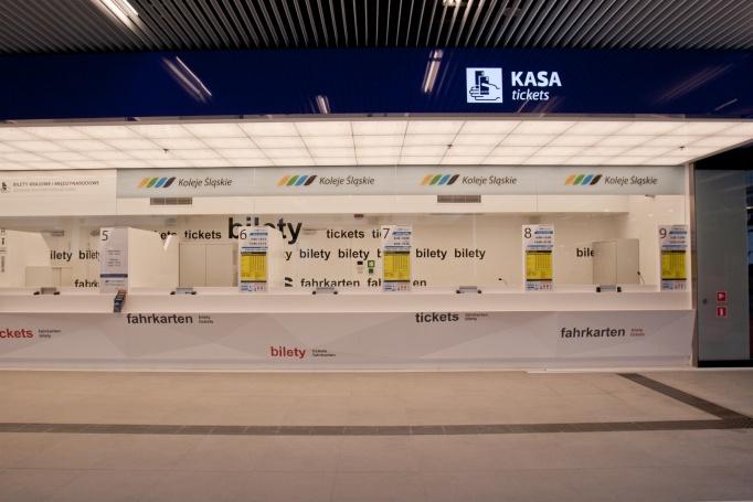 Dworzec PKP Katowice Train Station - zdjęcie 9