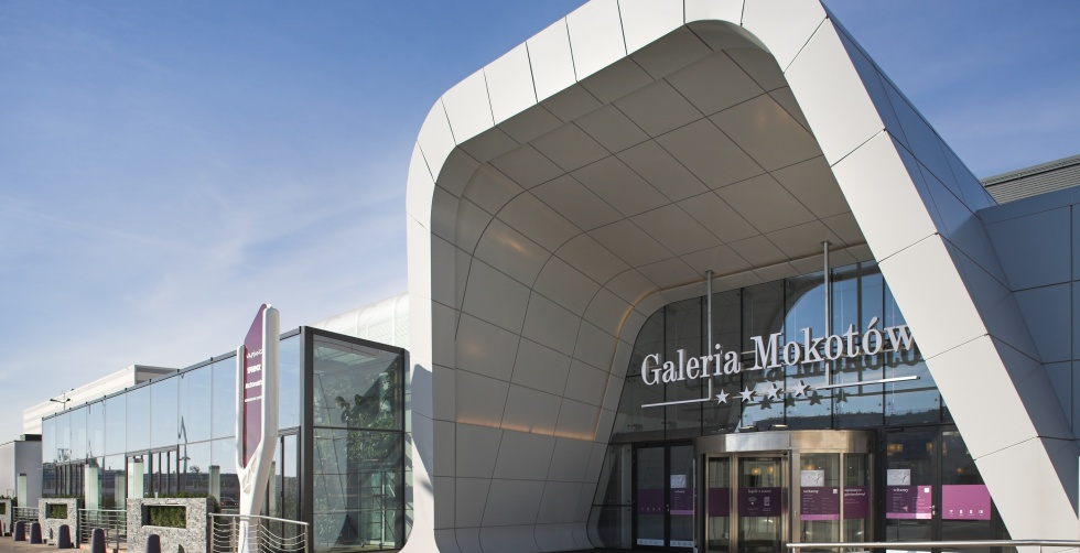 Galeria Mokotów, wejście