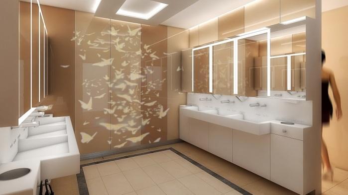 Galeria Mokotów Toalety - 0, +1 - zdjęcie 1