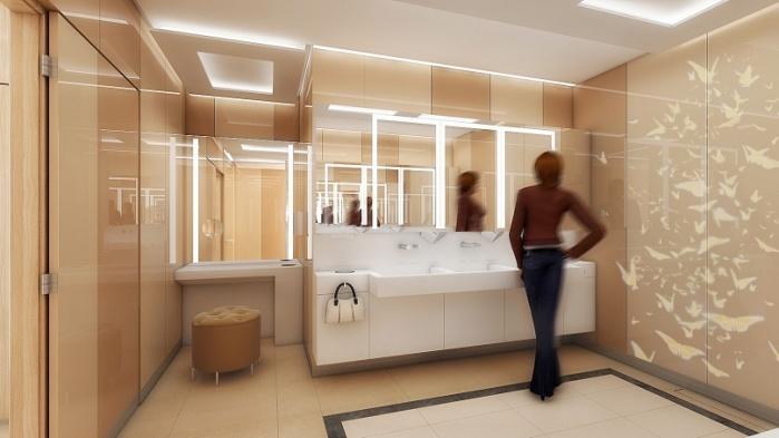 Galeria Mokotów Toalety - 0, +1 - zdjęcie 3