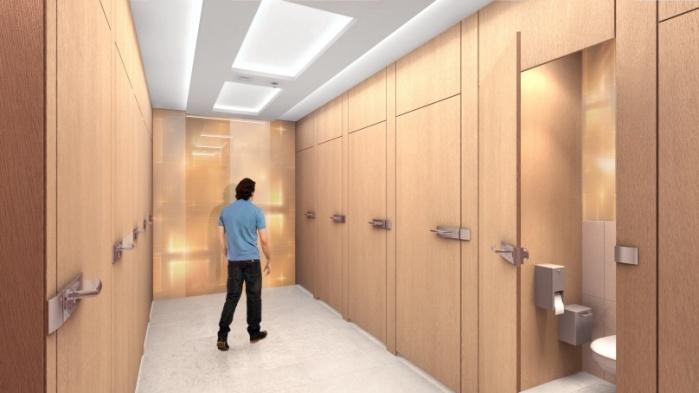 Galeria Mokotów Toalety - 0, +1 - zdjęcie 2